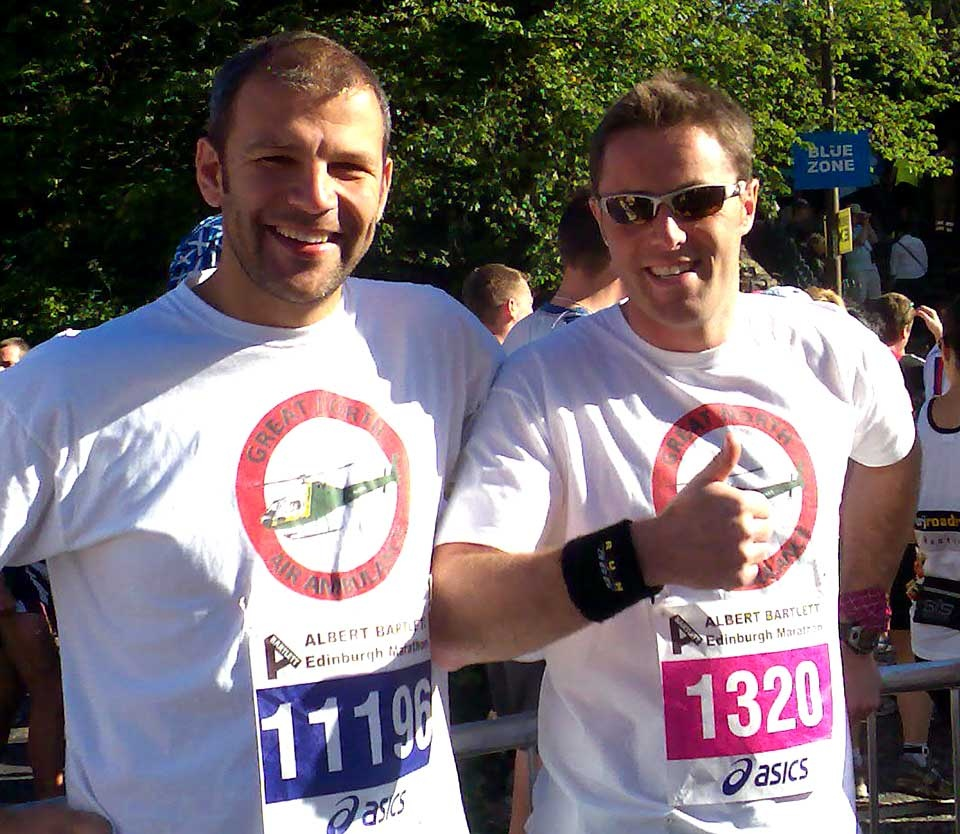 Running for Air Ambulance
